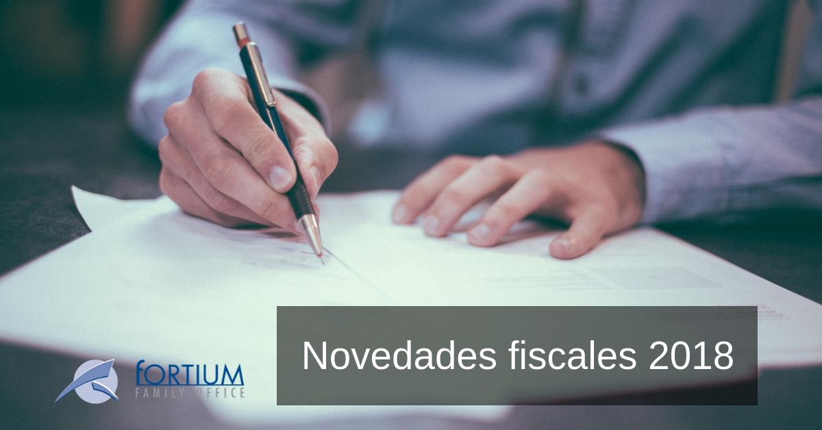 Novedades fiscales a tener en cuenta por el contribuyente de cara al cierre fiscal